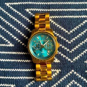 Michael Kors Gold Watch Hunger Stop